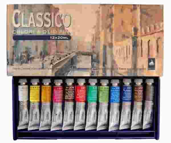 купить масляные краски для живописи: