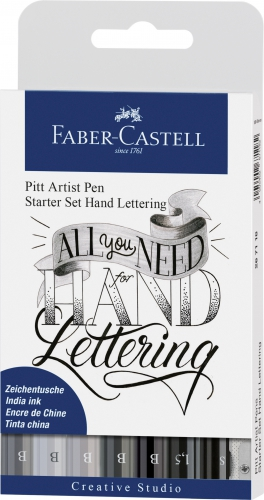Набор Lettering 8шт. Faber-Castell