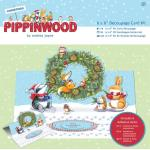Набор 3D открытка Pippinwood Christmas А5 2шт. 169906