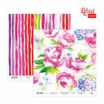 Бумага для скрапа Rosa Talent 30,5х30,5см 200г Floral Poem-14