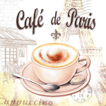 Салфетка Cafe de Paris Abiente